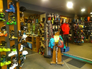 Chaussures et skis
